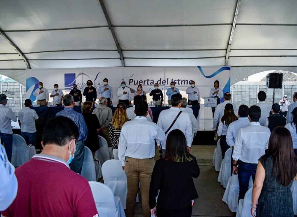 Noticiero Guatevisión 9PM INAUGURAN PUERTA DEL ISTMO
