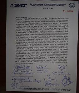ZOLIC, de acuerdo al proceso de verificación y cumplimiento del Operador Económico Autorizado, continúa certificado bajo esos estándares