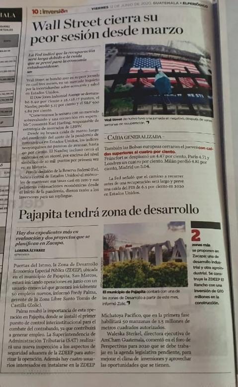 Pajapita, San Marcos tendrá su Zona de Desarrollo nuevos empleos y reactivación económica. #SomosZolic