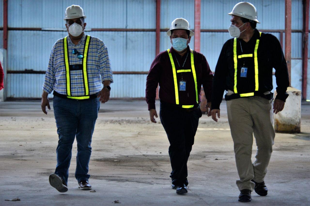 Autoridades de ZOLIC verifican condiciones de espacios disponibles