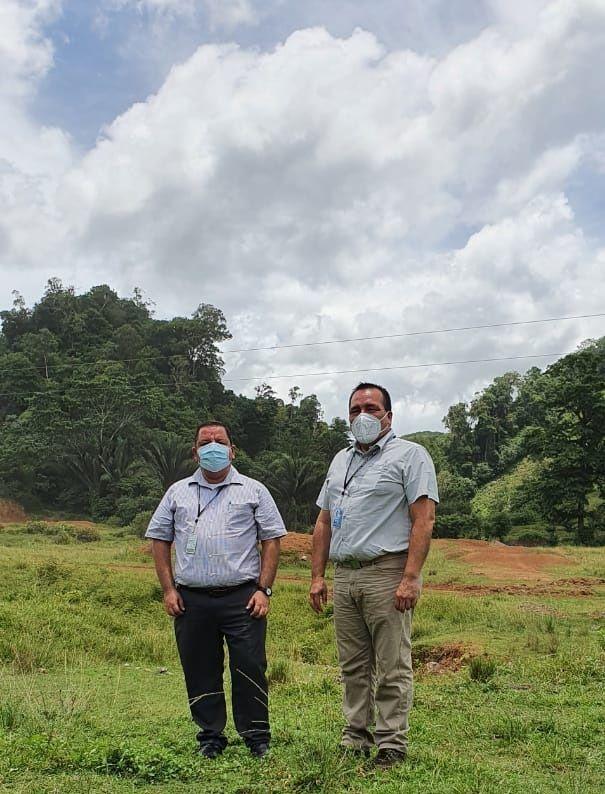 Autoridades de ZOLIC visitan terrenos donde se instalará nueva ZDEEP