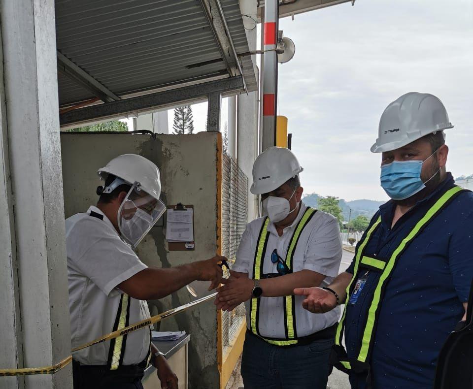 Complejo industrial de ZOLIC continúa operaciones con estrictos protocolos de bioseguridad